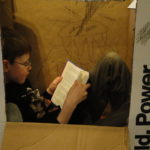 And reading in a box (why not?!)